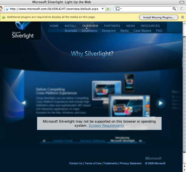 Silverlight & Other Streams.