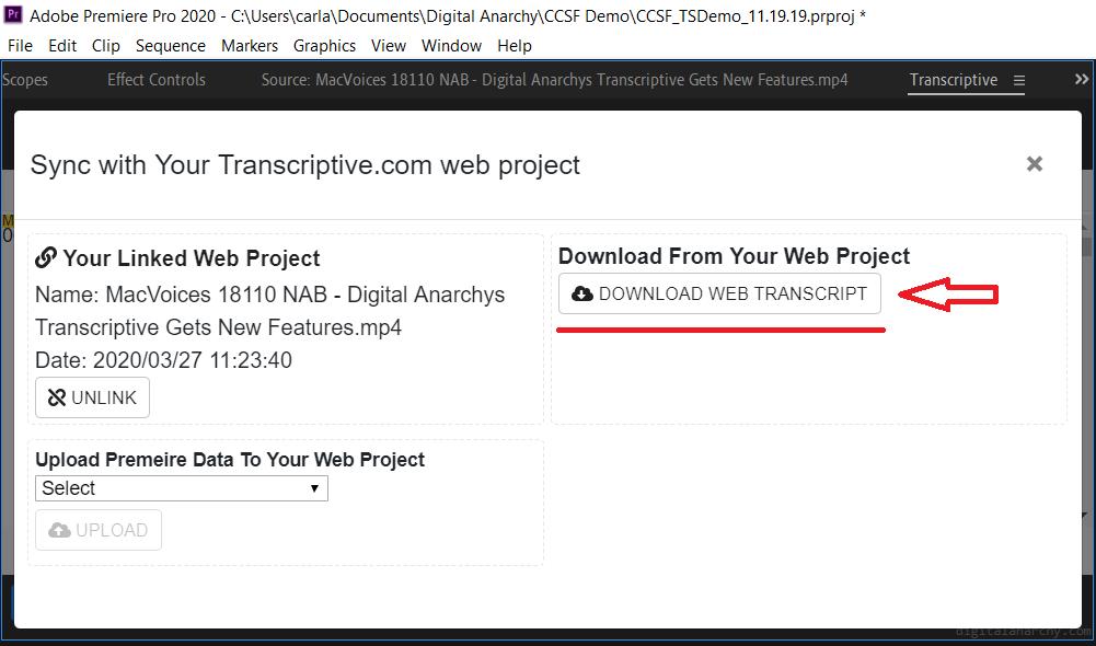 DownloadTranscript