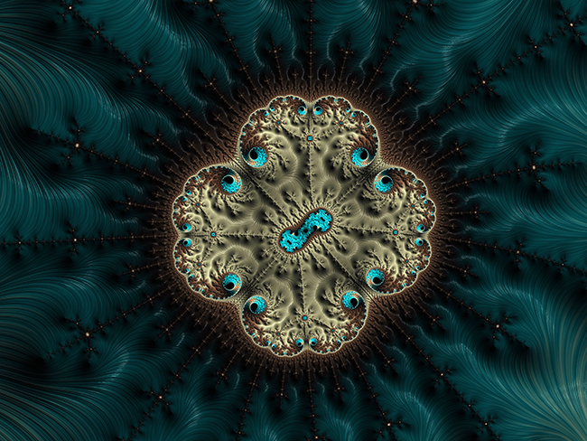 Cool fractals created by Fract.al