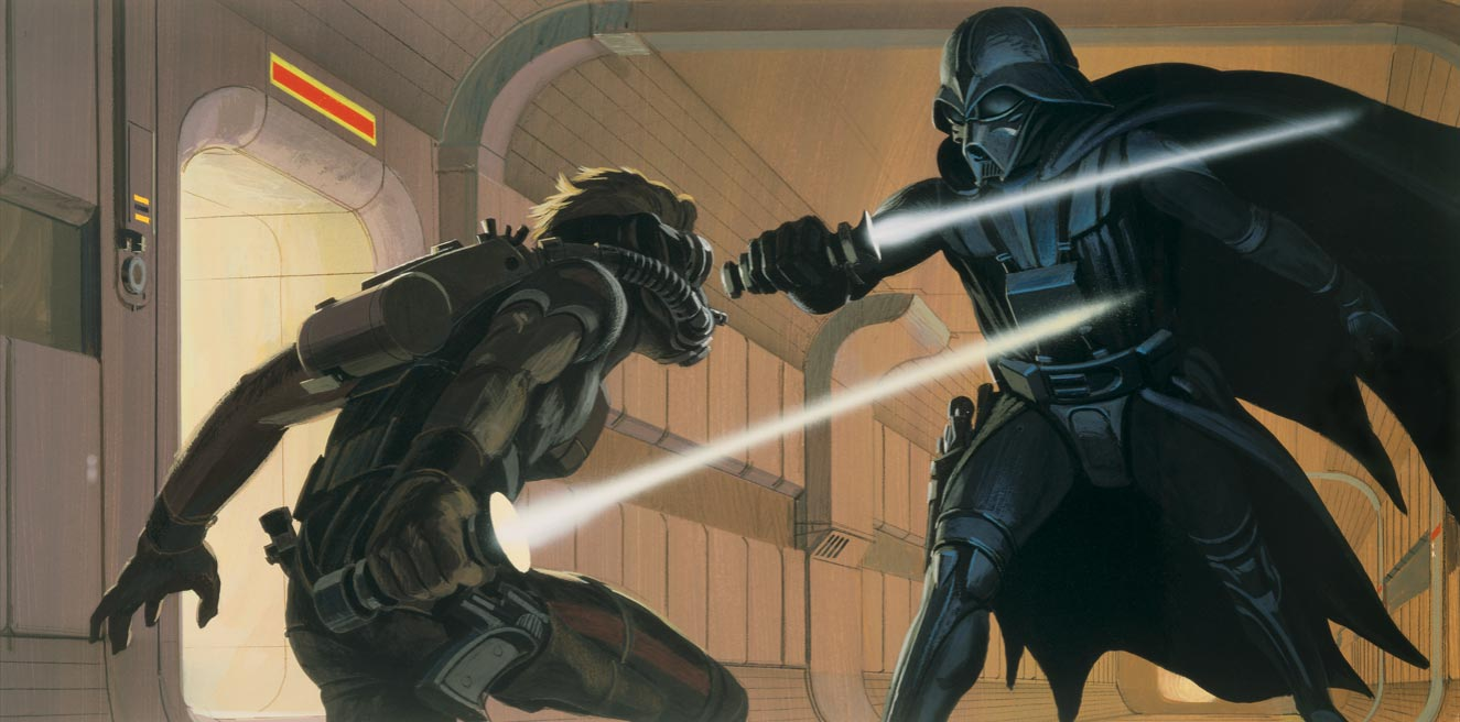 Ralph McQuarrie's Star Wars Art