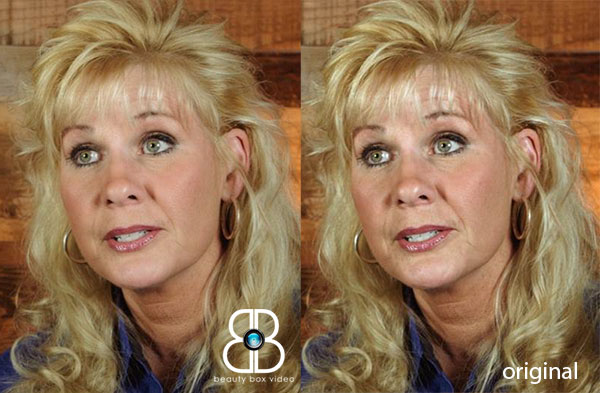 Example of Brian Smith's skin retouching for a corporate client