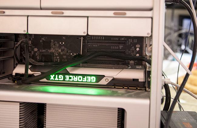 Nvidia GTX GPU in Mac Pro