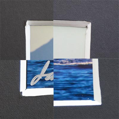 Bay photo matting