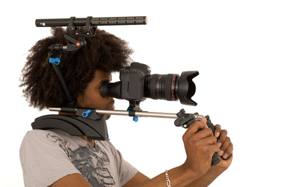 DSLR rig for shooting video