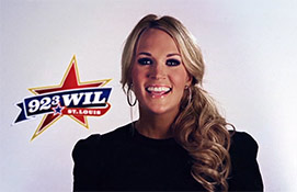 Willy B Carrie Underwood Portrait