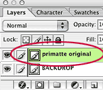 Primatte Wrong Layer