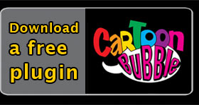 Cartoon Bubble Photo Plugin