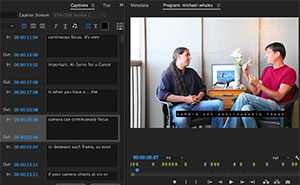 Transcriptive's accuracy makes it easy to create subtitles or captions for videos